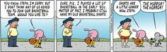 April 29, 2013, Pearls Before Swine strip.