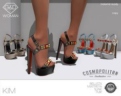Exclusive @ Cosmopolitan 26th September - 8th October http://maps.secondlife.com/secondlife/No%20Comment/130/28/23 available in 10 colors or fatpack 10+2 colors bonus