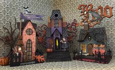 Annette's Creative Journey: Whimsical Haunted Village