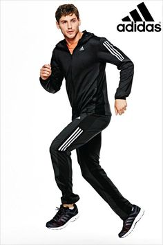 Buy adidas Gym Black Cool 365 Hoody from the Next UK online shop Jogger Pants Outfit, Polo Shirt Outfits, Mens Jogger Pants, Sport Outfits, Joggers, Track Pants Mens, Track Suit Men, Next Sportswear, Nike Sports Jacket