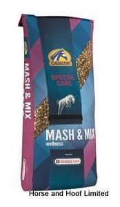 Cavalor Mash Mix 1 5kg Cavalor Mash Mix is specially formulated from very easily digestible natural raw materials suited to horses in heavy work.