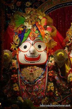 First Sringar and Shayan Darshan of ISKCON NVCC Temple Deities 23-02-13