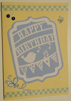 Birthday Card Silhouette Cameo