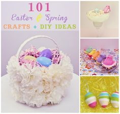 Easter and Spring crafts listed by category (basket stuffers, crafts, kid crafts, food, etc.) Palmettos and Pigtails' Easter Bunny Bowling got featured as a basket stuffer!