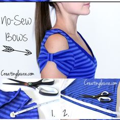 Refashion Old T-shirt To Tank Top - DIY - AllDayChic