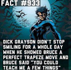 Dick Grayson fact #933