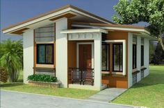 Modern bungalow house philippines small bungalow house plans new Simple Bungalow House Designs, Bungalow Haus Design, Small Bungalow, Modern Bungalow House, Small House Exteriors, Simple House Design, Bungalow House Plans, House Design Photos, Minimalist House Design