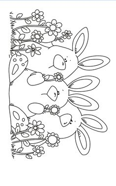 Three rabbits Transparent Clear Stamps Silicone Seals for DIY scrapbooking photo album Card Making-in Stamps from Home & Garden on AliExpress Easter Colouring, Colouring Pages, Adult Coloring Pages, Coloring Pages For Kids, Coloring Books, Pinguin Illustration, Tampons Transparents, Fabric Stamping, Diy Scrapbook