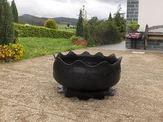 Aprendiz: gran maceta hecha con neumático de furgón, paso a paso