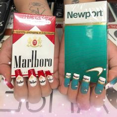 Life is full of cringe-worthy moments, and the internet has generated a huge amount of laughs from it. Enjoy 37 funny cringe moments that will make you LOL. Sexy Nails, Cute Nails, Pretty Nails, White Trash Bash, Hollywood Nails, Marlboro Cigarette, Nail Art Images, Fx Makeup, Square Nails