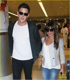 Lea Michele & Cory Monteith: So Happy to be In New York!