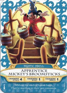 Sorcerers of the Magic Kingdom Cards Checklist