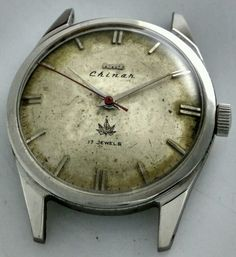 HMT Chinar Mechanical Aged Dial 17 Jewels Men's wristwatch Vintage Collectible | eBay
