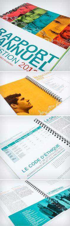 Rapport annuel - SAAQ #design #edition