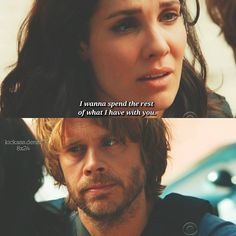 Season 8 finale, ep 8x24 - Kensi asking Deeks to marry her.