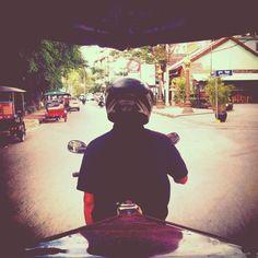 The #portrait of a #Cambodian #tuktuk driver. #Cambodia