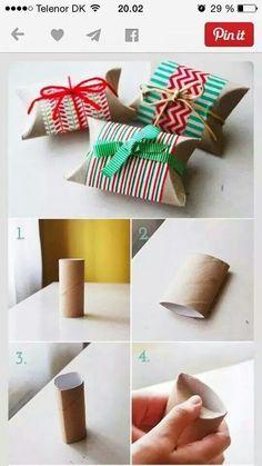 Förslag på adventspaket eller liten paketask