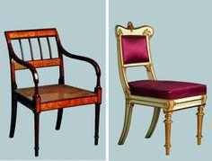 Møbler i Empire stil