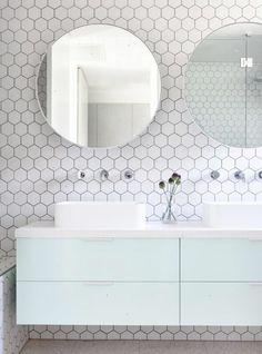 Modern bathrooms | desiretoinspire.net | Bloglovin