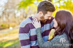 Gettin' cute and cuddly on the blog today! See Tammy and Joshua's candid love at their Philly engagement session.