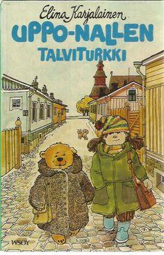Uppo-Nallen talviturkki Cover Pics, Cover Picture, Terry Pratchett, Childhood Memories, Fairy Tales, Comic Books, Comics, Retro, Reading