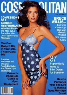 Magazine photos featuring Stephanie Seymour on the cover. Stephanie Seymour magazine cover photos, back issues and newstand editions. 1990s Supermodels, Original Supermodels, Fashion Magazine Cover, Fashion Cover, Magazine Covers, Top Models, Francesco Scavullo, San Diego, Cosmo Girl