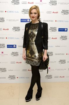 Holliday Grainger Photos: English National Ballet Christmas Party - Arrivals