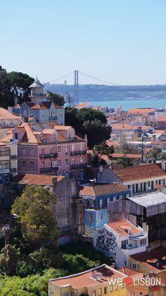 Miradouro Nossa Senhora do Monte has some of the most fabulous views of Lisbon.