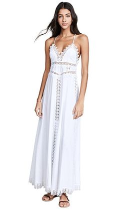 a8d9ef045d Love this pretty white maxi dress that you can wear as a coverup or a dress!