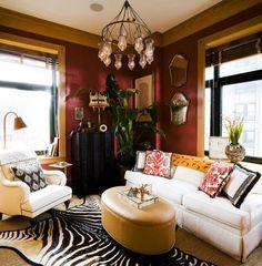 Decor on pinterest red painted walls foyers and red living rooms