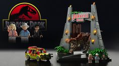 This Jurassic Park Lego Set Could Become Official; omgosh love this