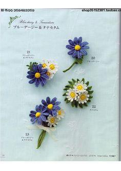 Watch The Video Splendid Crochet a Puff Flower Ideas. Wonderful Crochet a Puff Flower Ideas. Japanese Crochet Patterns, Crochet Flower Patterns, Crochet Motif, Crochet Flowers, Crochet Lace, Crochet Buttons, Thread Crochet, Cute Crochet, Easy Crochet