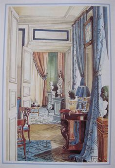 Room designed by Parisian Madeline Castaing