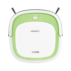 Ecovacs Deebot Slim Low-Profile Bare-Floor Robotic Vacuum Cleaner, Greens