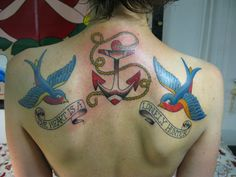 tattoo for rose... the banners could read india & lucia