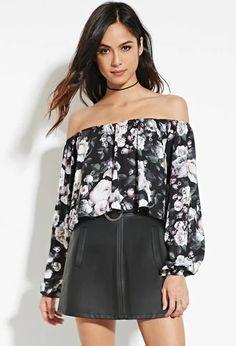 Floral Off-the-Shoulder Top | Forever 21 #spring