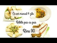 Ep 5 /Ce mananc in 4 zile de Rina/ Retete dieta Rina 90 / Dieta Rina/ What i eat to lose weight Rina Diet, Diet Recipes, Health Fitness, Lose Weight, Food And Drink, Vegetables, Eat, Youtube, Sport