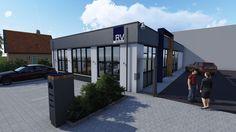 Impressie make over bedrijfspand in Rijssen. www.signatuurrijssen.nl