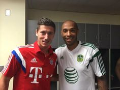 Before the match. MLS All-Stars vs FCB 06.08.14