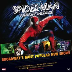 Spiderman on Broadway #spiderman #broadway #nyc #newyork #where