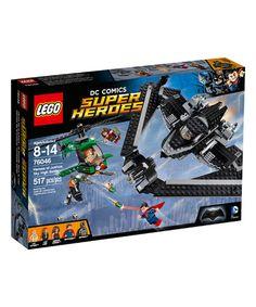 LEGO® DC Superheroes Heroes of Justice: Sky High Battle Set #zulily #zulilyfinds