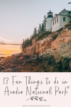 13 Fun Things To Do In Acadia National Park - The Wandering Queen Usa Travel Guide, Travel Usa, Canada Travel, Maine Road Trip, Road Trips, Visit Maine, New England Travel, National Parks Usa, Acadia National Park Hiking