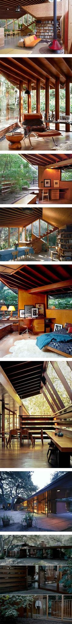 The Lautner House from 'A Single Man' via Nuji.com