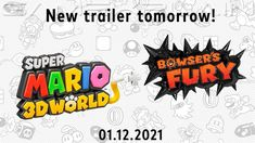 Super Mario 3d, New Trailers, Bowser, Nintendo Switch