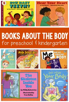 Books about the human body for kids ages 3-8 from @themeasuredmom