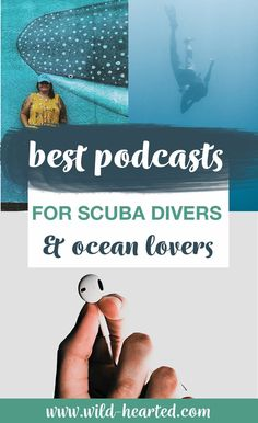 Are you looking for the best scuba diving podcasts out there? Here's a list of the best ones that regularly put out new content! Shark Diving, Best Scuba Diving, Scuba Diving Gear, Cave Diving, Snorkeling, Cozumel Diving, Cancun, Tulum, Laos