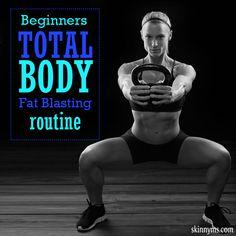 Beginners Total Body Fat Blasting Routine #beginnersworkout #weightloss #fatloss