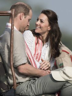 William and Catherine, India and Bhutan tour, Spring 2016: sweet look on her face! Hope that continues!!