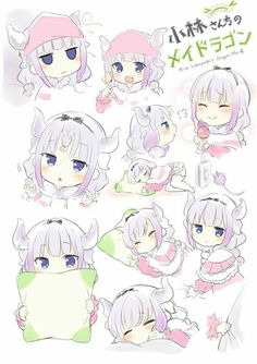 Kanna Kamui Adorable.