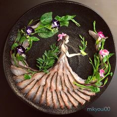 Diy Discover Sashimi Artist Designs Incredible Food Art From Raw Fish And Other Edible Ingredients food design L& Du Sushi Sushi Art Sushi Chef Sashimi Sushi Kunst Cute Food Yummy Food Healthy Food Creative Food Art L'art Du Sushi, Arte Do Sushi, Sushi Chef, Sushi Art, Sashimi Sushi, Cute Food, Yummy Food, Healthy Food, Creative Food Art